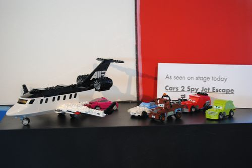 LEGO Cars 2 Spy Jet Escape