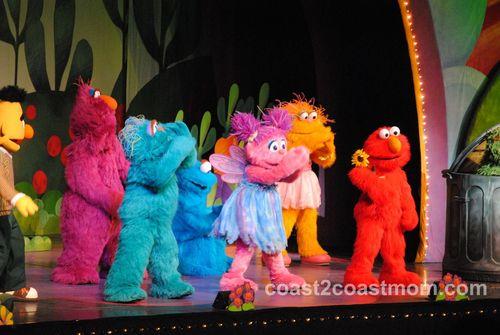 Elmo and Sesame Street Live Cast