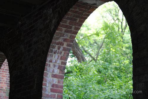 Archway at Central Park Zoo