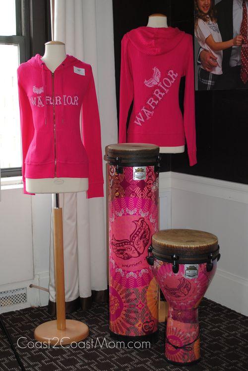 Warriors in Pink Hoodie