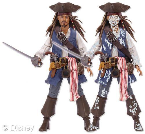 Jack Sparrow Zombie Reveal