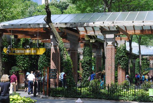 Central Park Zoo exit