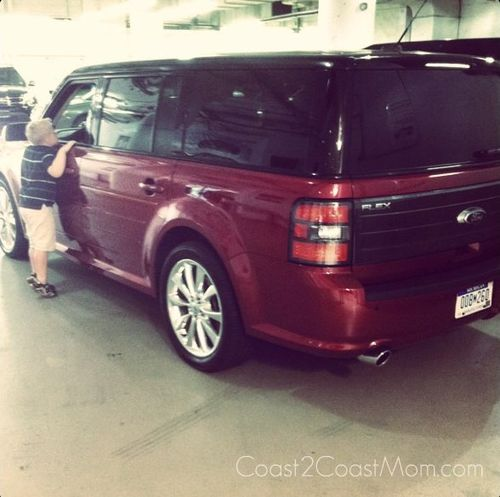 Picking Up the Ford Flex