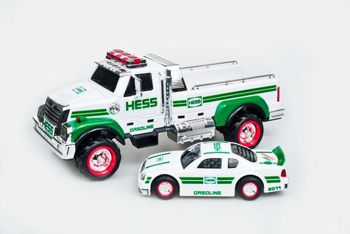 2011 Hess toy truck