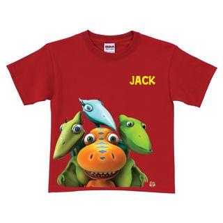 Personalized Dinosaur Train Shirt