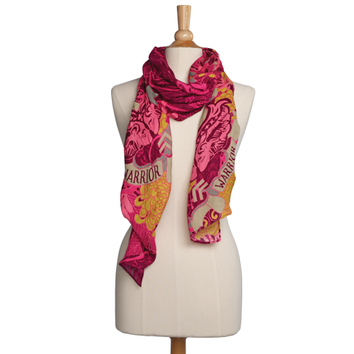 Warriors in Pink 2011 scarf