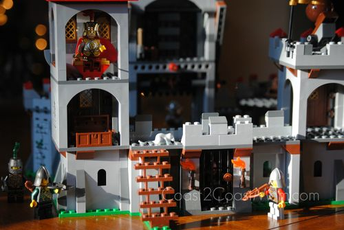 LEGO Kingdom Castle Rear View