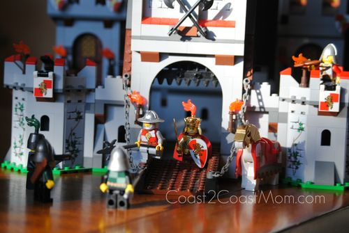 LEGO Kingdoms Castle Front View