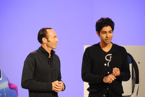Peter Glatzer and Adrian Grenier 2