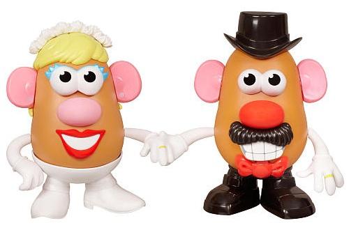 Mr and Mrs Potato Head Mashly in Love