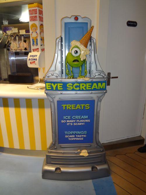 Disney Fantasy Ice Cream