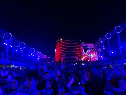Disney Fantasy Pirate Party Night