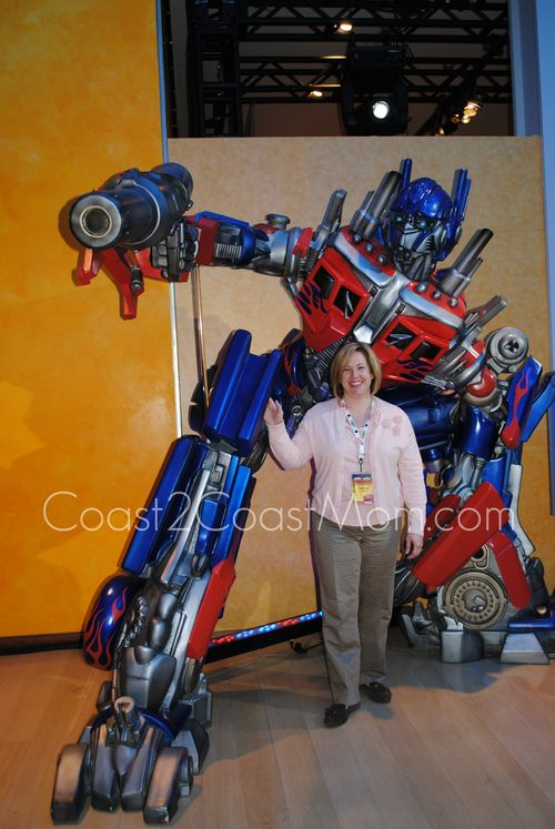 Optimus Prime Toy Fair