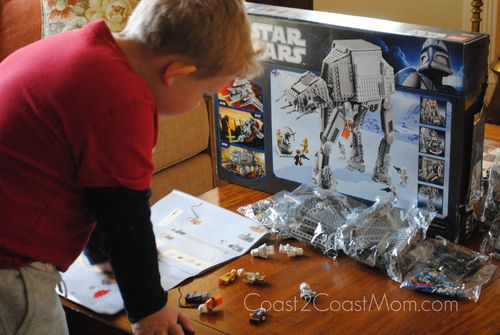 Putting Together the AT-AT