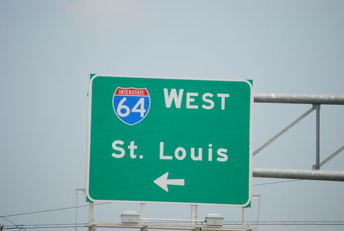 Heading to St Louis