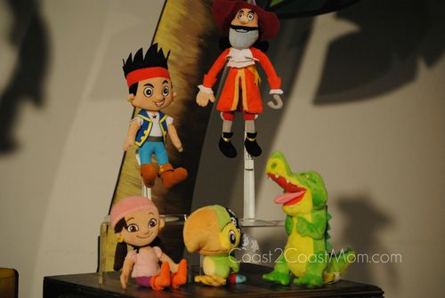 Jake and the Neverland Pirates stuffed animals