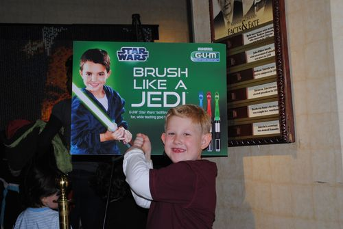 Star Wars toothbrush launch