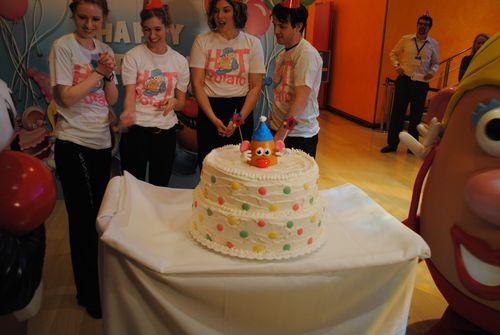 Potato Head birthday celebration