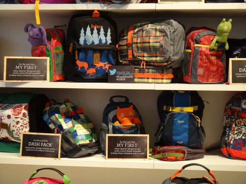 Lands End Backpacks UpClose