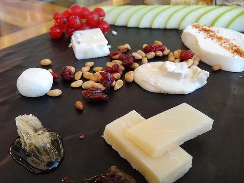 Reds - cheese plate