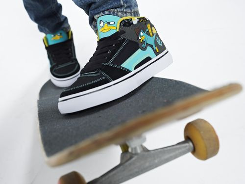 Etnies Disney Perry the Platypus shoes