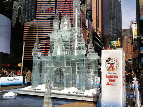 Disney Limited Time Magic Ice Castle