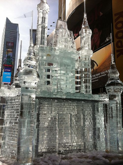 Disney Limited Time Magic Ice Castle Times Square