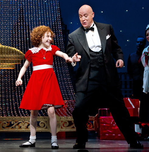 Annie and Warbucks