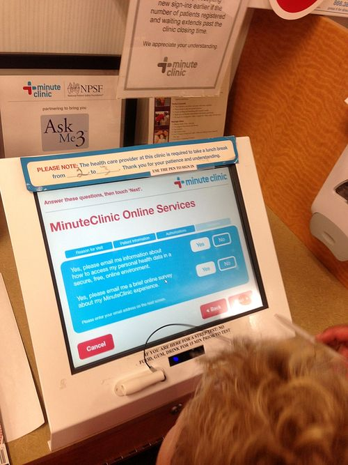 CVS MinuteClinic registration