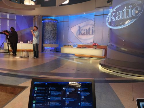 Katie Couric studio