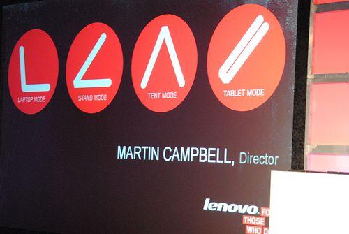 Lenovo Laptop Martin Campbell
