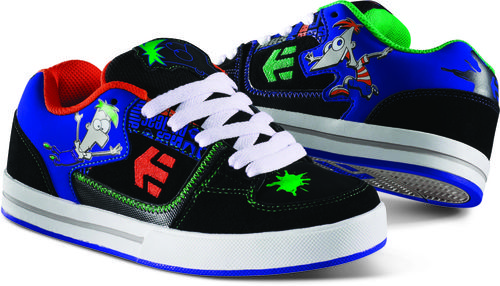 Etnies Phineas and Ferb shoes