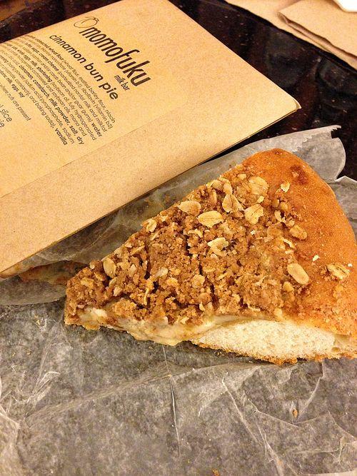Momofuku cinnamon bun pie