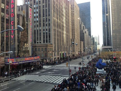 Parade - party view from Time Life bldg 2