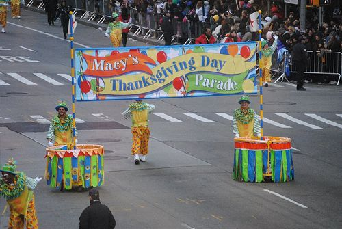 Thanksgiving Day Parade kickoff