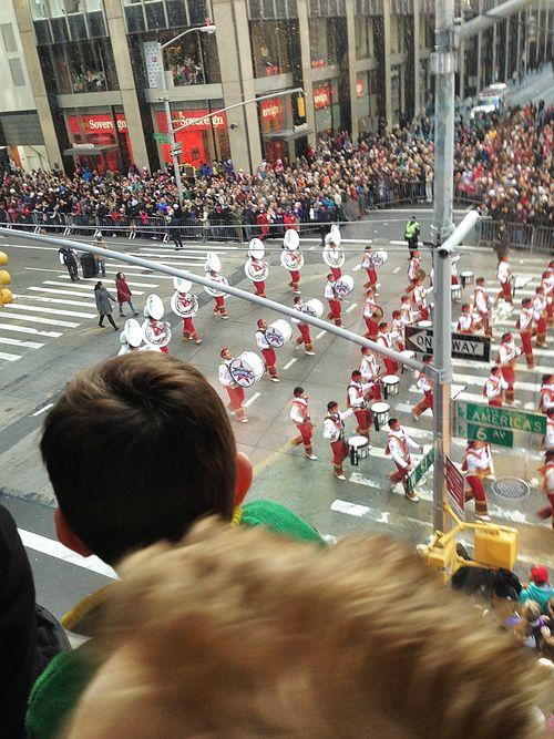 Parade - watching band
