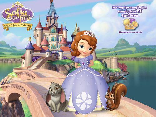 Sofia the First Disney little girl princess