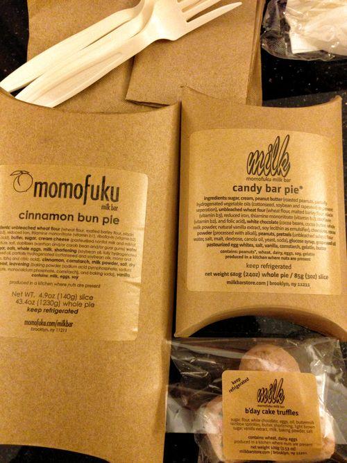 Momofuku treats