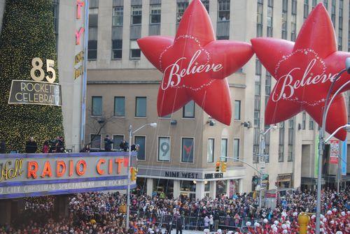 Parade - End of parade balloons