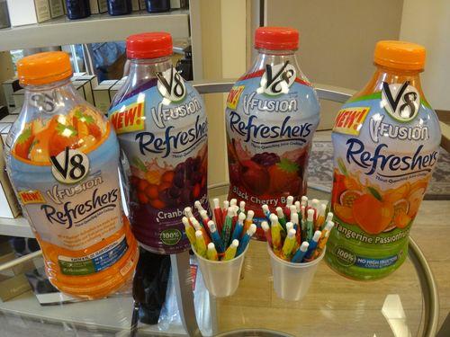 V8 V-Fusion Refreshers flavors