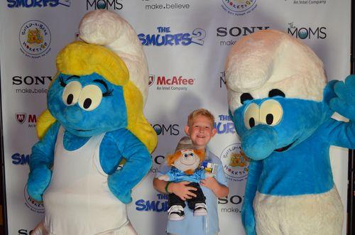 Smurfs 2 - Blue Carpet 2