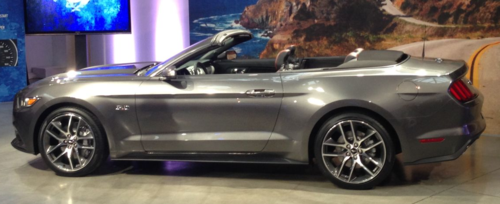 2015 Ford Mustang 50th Anniversary Edition Debuts  Coast 2 Coast Mom