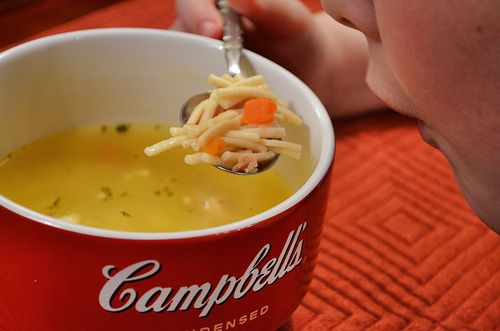 Hot Campbells Soup