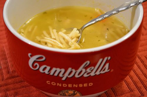 Campbells Chicken Noodle Soup Bowl