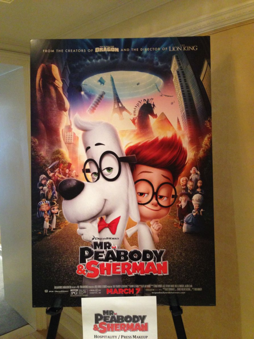 Peabody and Sherman press day NYC